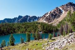 ladyslipper湖 库存图片