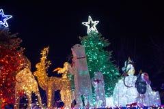 LADYSMITH, BC, CANADA - NOV 30, 2017: View Of The Christmas Para Royalty Free Stock Image