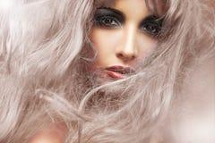 ladysommar Fotografering för Bildbyråer