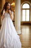 ladyvictorianbarn Royaltyfri Fotografi