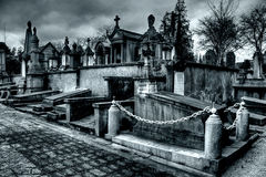 Laeken cemetery in Brussels Stock Photo