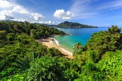 Laem Śpiewa plażę, Phuket, Tajlandia Zdjęcie Stock