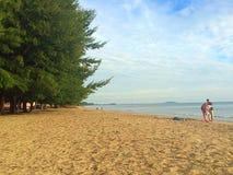 Laem поет пляж Стоковое Изображение RF