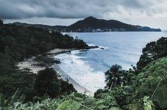 Laem canta o ponto de opinião da praia Fotografia de Stock