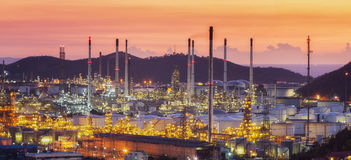 Laem Chabang oil refinery factory area royalty free stock photo