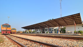 Laem Chabang,Thailand:Laem Chabang  freight Train  Royalty Free Stock Images