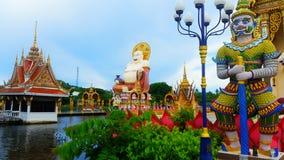 Laem di plai di Wat al samui del KOH Fotografie Stock Libere da Diritti