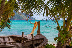 LAEM KA BEACH in Phuket island Stock Photos