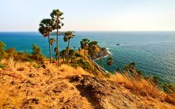 Laem Phrom Thep, Phuket, sud de la Thaïlande Photographie stock