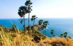 Laem Phrom Thep, Phuket, sul de Tailândia Imagens de Stock
