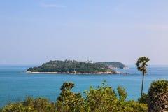Laem Phrom Thep, Phuket, sud de la Thaïlande Images libres de droits