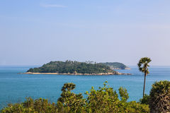Laem Phrom Thep, Phuket, sud de la Thaïlande Image stock