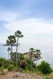 Laem Phrom Thep, Phuket, sul de Tailândia Foto de Stock