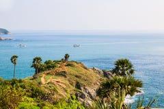 Laem Phrom Thep, Phuket, Zuiden van Thailand Royalty-vrije Stock Afbeeldingen