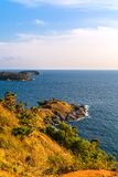 Laem Phrom Thep. View point of phuket,Thailand Stock Photography