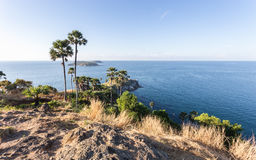 Laem Phromthep Viewpoint (Phromthep Cape Viewpoint) in Phuket, Stock Image