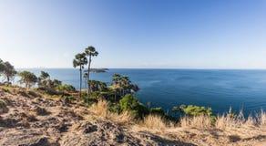 Laem Phromthep Viewpoint (Phromthep Cape Viewpoint) in Phuket, Royalty Free Stock Photo