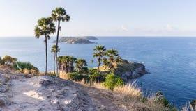 Laem Phromthep Viewpoint (Phromthep Cape Viewpoint) in Phuket, Stock Images