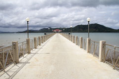 Laem Sai pier Stock Photography