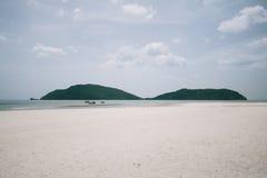 Laem Sala Beach Pran Buri in thailand Royalty Free Stock Photo