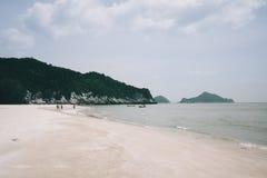Laem Sala Beach Pran Buri in thailand Royalty Free Stock Image
