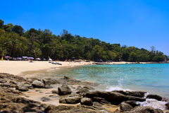 Laem sing beach, phuket, Thailand Royalty Free Stock Photography