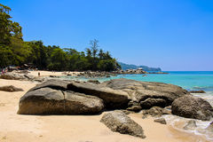 Laem sing beach, phuket, Thailand Stock Photos