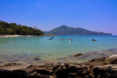 Laem sing beach, phuket, Thailand Royalty Free Stock Photos