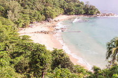Laem Sing beach, Phuket, Thailand. It is very beautiful and peac Stock Photography