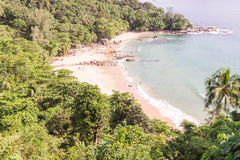 Laem Singh beach, Phuket, Thailand. It is very beautiful and peac Stock Photos