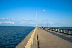 Laem Sok Pier,Thailand Royalty Free Stock Image
