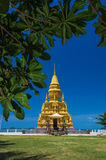 Laem sor pagoda on sea background, samui Island,Thailand Royalty Free Stock Images