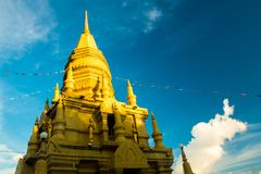 Laem Sor Pagoda temple with Big Buddha statue in Koh Samui, Thailand Royalty Free Stock Images