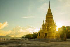 Laem Sor Pagoda temple with Big Buddha statue in Koh Samui, Thailand Stock Image