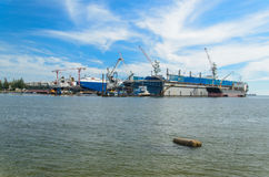 Laemchabang harbor Royalty Free Stock Photography
