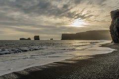 Laey del ³ de Islandia - de Dyrhà imagenes de archivo