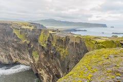 Laey del ³ de Islandia - de Dyrhà imágenes de archivo libres de regalías