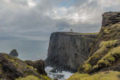 Laey do ³ de Islândia - de Dyrhà Foto de Stock