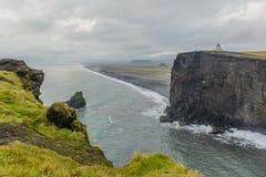 Laey do ³ de Islândia - de Dyrhà Imagem de Stock Royalty Free