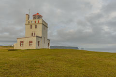 Laey do ³ de Islândia - de Dyrhà Imagens de Stock