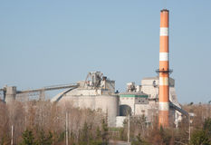 Lafarge Cement Plant Royalty Free Stock Image