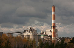 Lafarge Cement Plant Royalty Free Stock Photo