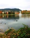 Lafarge sjö Fotografering för Bildbyråer