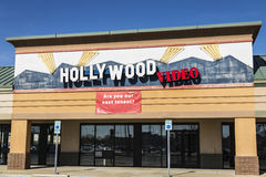 Lafayette - Circa April 2017: Defunct Hollywood Video Retail Location II Royalty Free Stock Images