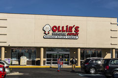 Lafayette - Circa April 2017: Ollie`s Bargain Outlet. Ollie`s Carries a Wide Range of Closeout Merchandise IV. Ollie`s Bargain Outlet. Ollie`s Carries a Wide Stock Photo