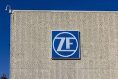 Lafayette - circa dicembre 2016: Fabbrica della direzione di ZF Friedrichshafen ZF TRW acquistato Friedrichshafen automobilistico fotografia stock