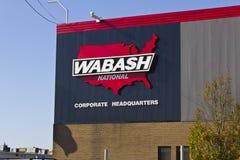 Lafayette, IN - Circa November 2015: Wabash National Corporation Headquarters Stock Image