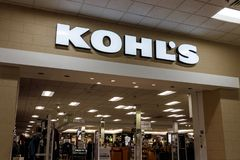 Lafayette - Circa October 2018: Kohl`s Retail Store Location. Kohl`s operates over 1,100 Discount Stores III. Kohl`s Retail Store Location. Kohl`s operates over stock photos