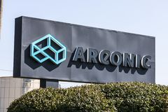 Lafayette - Circa September 2017: Arconic Forging and Extrusion Plant. Arconic is a spinoff of Alcoa IV Stock Photography