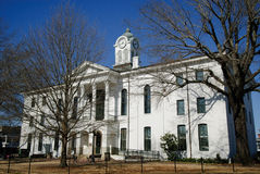 Lafayette County Courthouse in Oxford, Mississippi. In winter Royalty Free Stock Photo